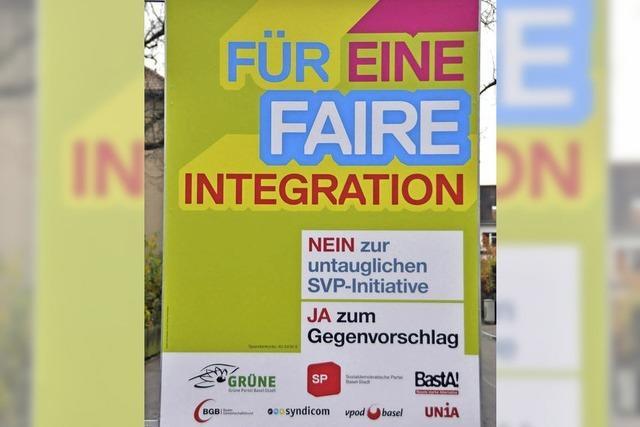 Basel begrüßt Zuwanderer mit Gespräch