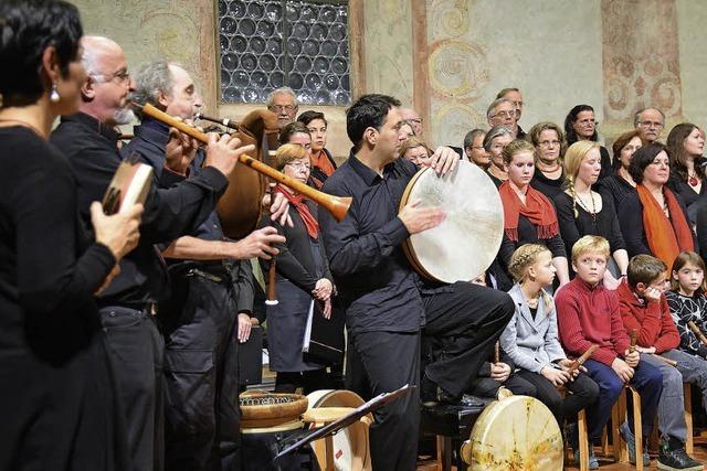 Facettenreiches Flötenspiel in der Müllheimer Martinskirche
