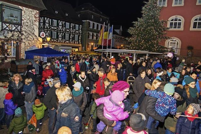 Barocke Altstadt im Lichterglanz
