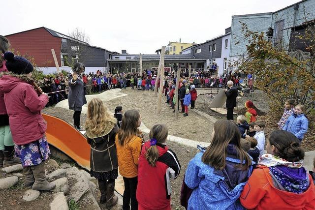 Erweiterungsbau der Waldorfschule Rieselfeld ist fertiggestellt