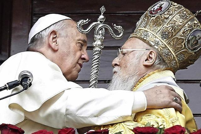 Papst geht auf Orthodoxe zu