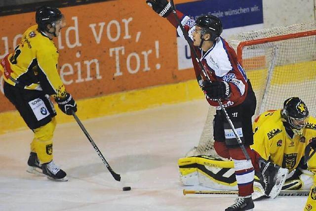 EHC Freiburg feiert in Erding einen 6:4-Erfolg