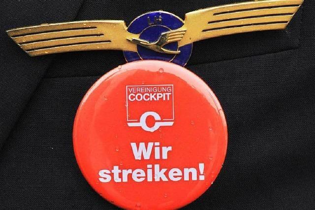 Lufthansa streicht wegen Pilotenstreiks hunderte Flüge