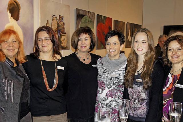 Sechs Frauen zeigen ihre Kunst