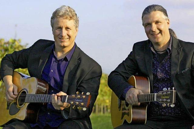 Enrico Novi und Holger Maier spielen im Schloss Reinach
