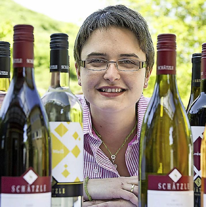 Franziska Schätzle freut sich über den Preis.     Foto: Daniel Schoenen