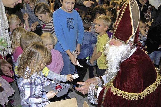 Turnen für den Nikolaus