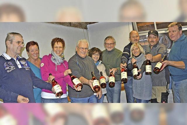 1000 Flaschen Rosé und Nobling-Sekt