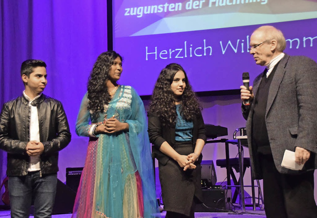 Herwig Popken vom Freundeskreis Asyl s... und aus dem Hertener St. Josefshaus.   | Foto: Sarah Nöltner