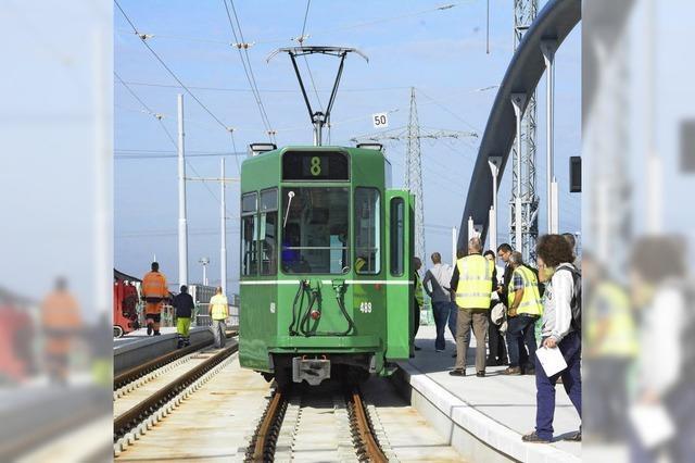Am 14. Dezember eröffnet die Tramlinie 8