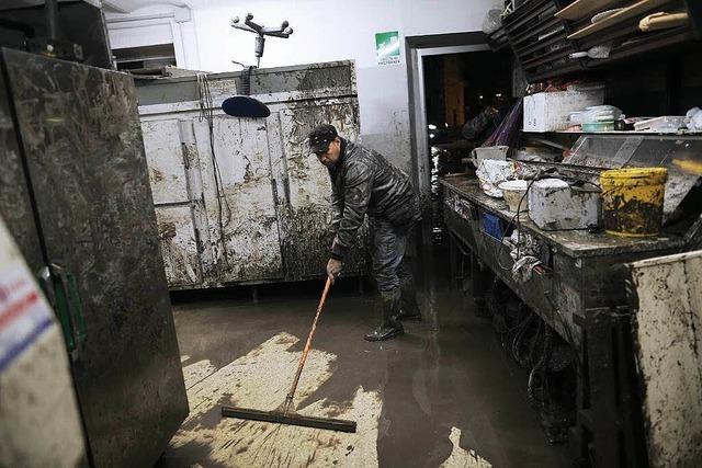 Italien leidet unter Fluten und Erdrutschen