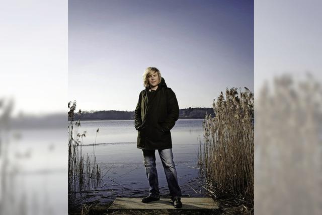 Dominik Eulberg im Stinnes Areal: Engelsfigur des Techno