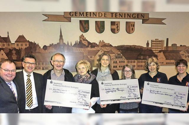 3800 Euro für die Jugend