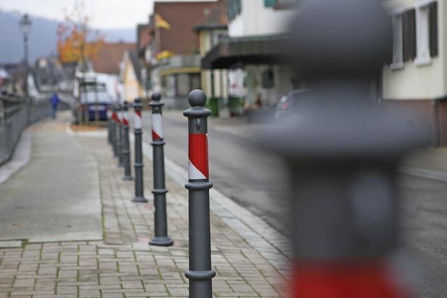 Poller gegen Falschparker