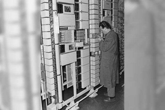 Telefontechnik war früher eine laute Sache