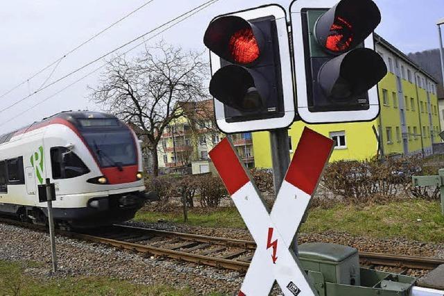Bahnbehörde ist am Zug