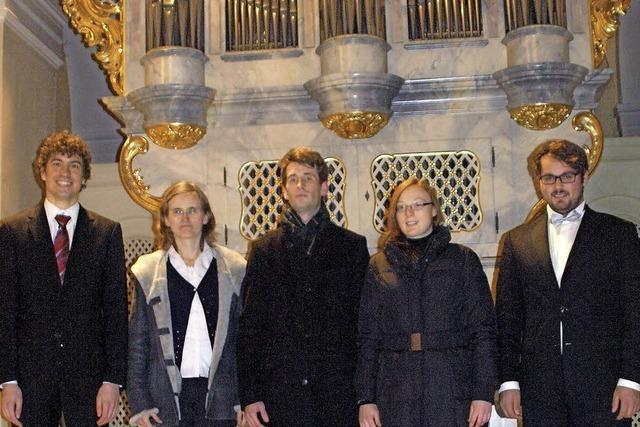 Die Farbenpracht der Orgeln
