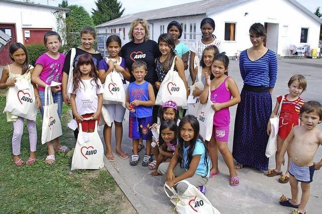 Spenden bringen Kinder zum Lächeln