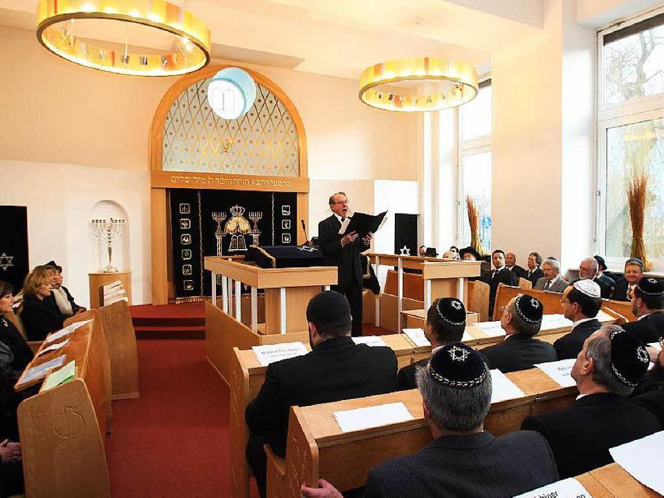 Die Synagoge in Pforzheim  | Foto: dpa