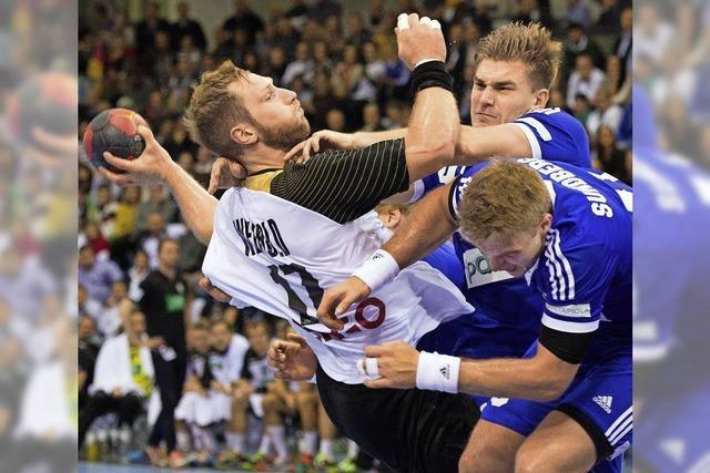 Deutschland spielt Handball – und keiner kann hinschauen