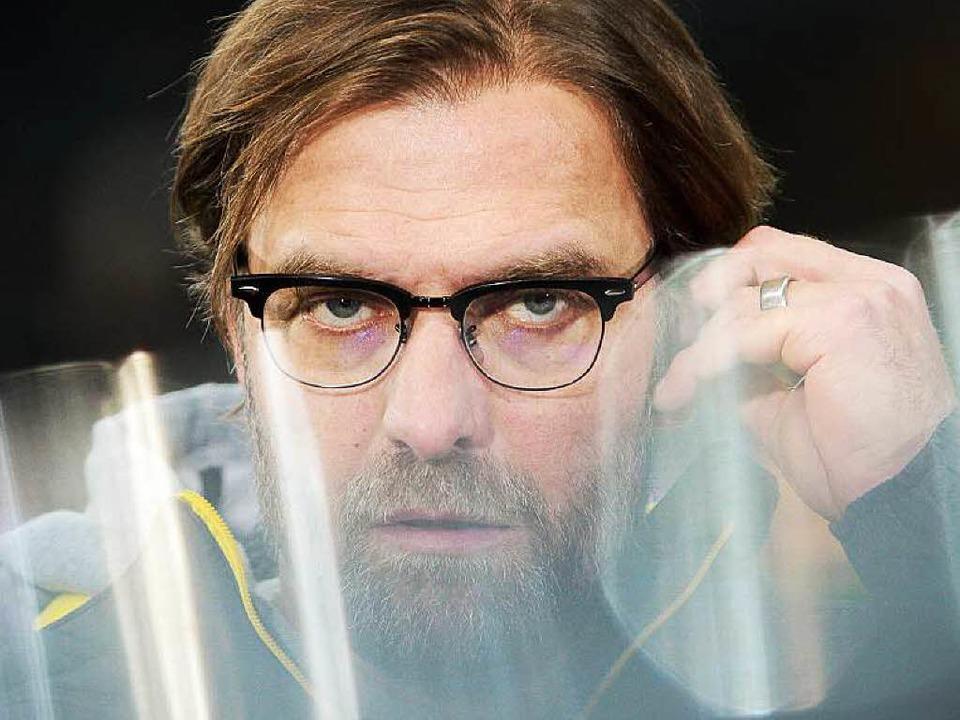 Durchdringender Blick: Jürgen Klopp  | Foto: dpa