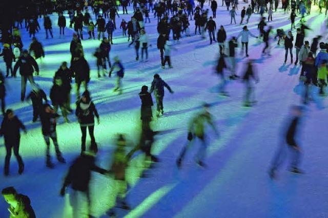 Eislaufbahnen und Eishallen in Südbaden und der Region