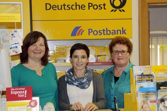 Die Gemeinde lässt die Post im Dorf