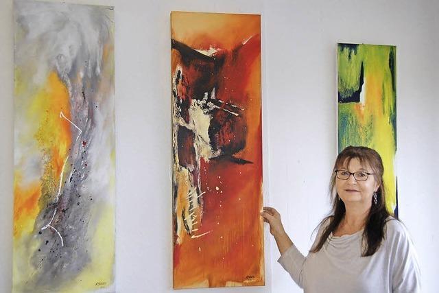 Freie Malerei in Acryl