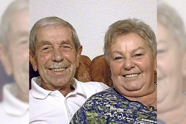 Peter und Anita Schmidt feiern goldene Hochzeit