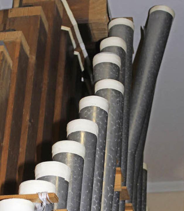 Peter Maier spielt in Gottesdiensten, ...Orgel in Sankt Stephan in Gottenheim.   | Foto: Mario Schöneberg