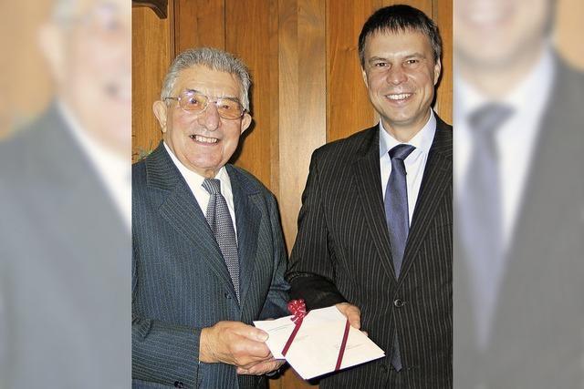 Albert Hess feiert seinen 80. Geburtstag