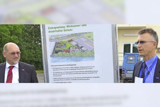 BASF darf den Chemiemüll einkapseln