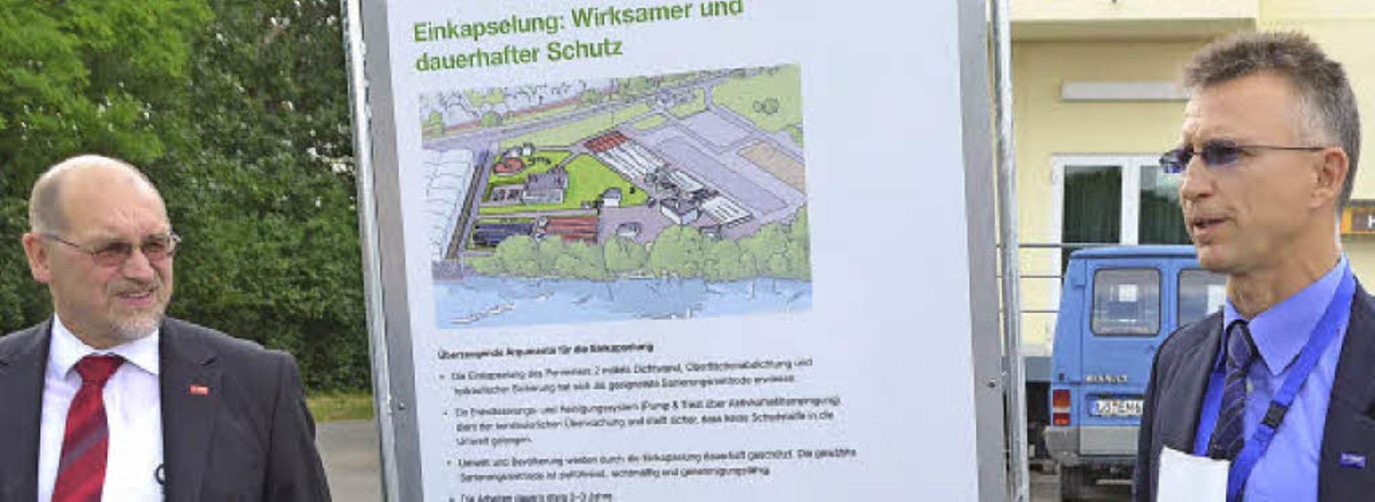 BASF kann den Perimeter 2 so sanieren,...ei ihren Führungen stets erläuterten.   | Foto: Peter Gerigk