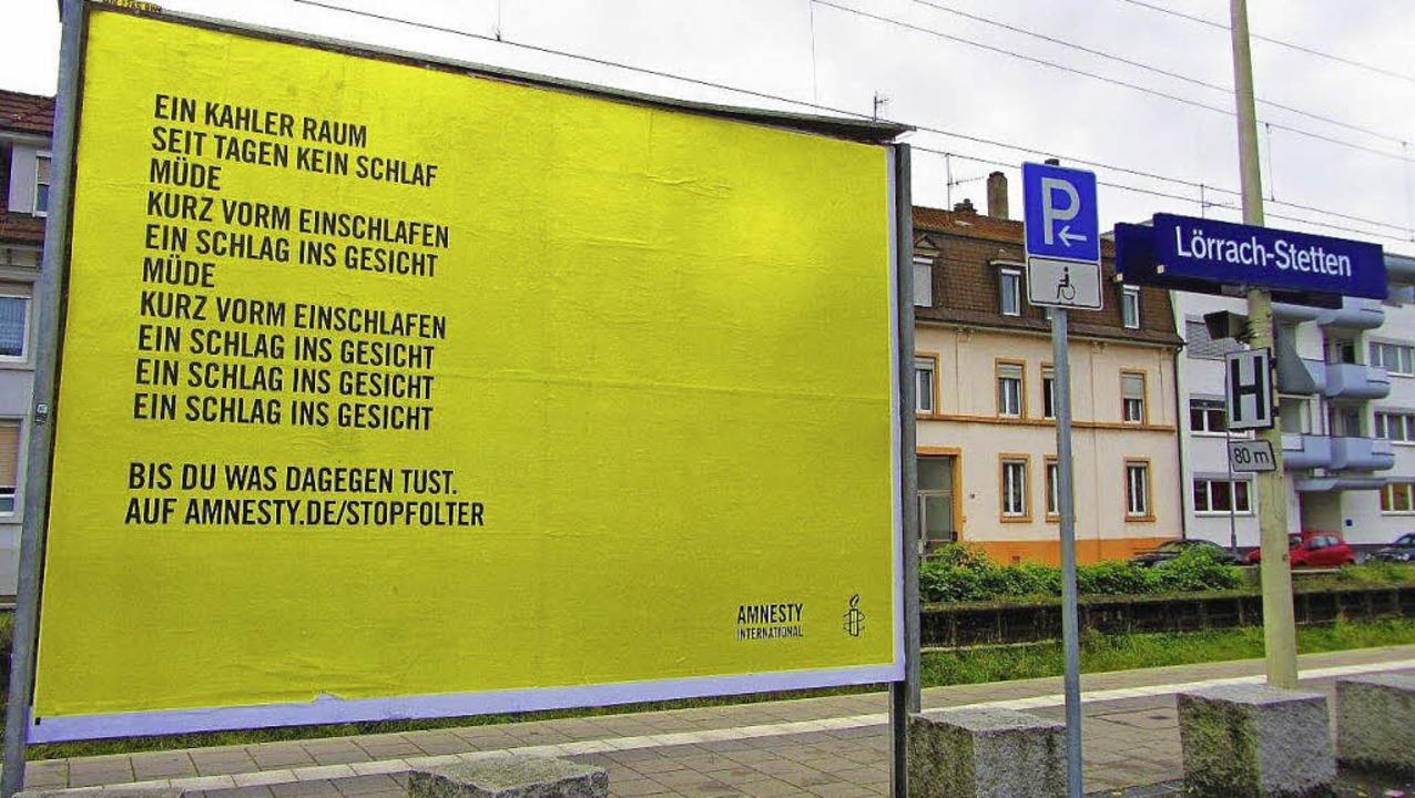 Groß, gelb, kaum zu übersehen – ...zeit an Bahnhöfen in ganz Deutschland.  | Foto: ZVG