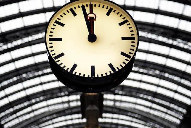 Bahn: Rheintalstrecke nach Vorfall in Auggen wieder offen
