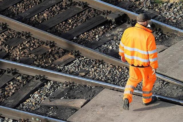 Die Bahn bremst den Ausbau der Rheintalstrecke