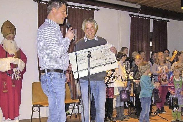 Kollnauer Spende für Jugendblasorchester