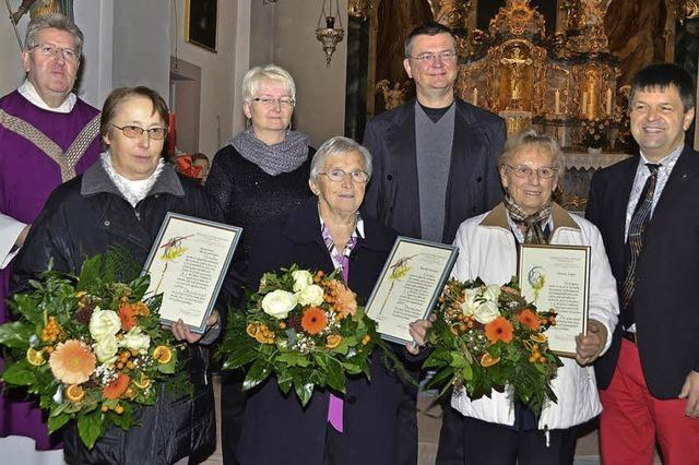 Jahrzehntelang im Einsatz für Kirchenmusik