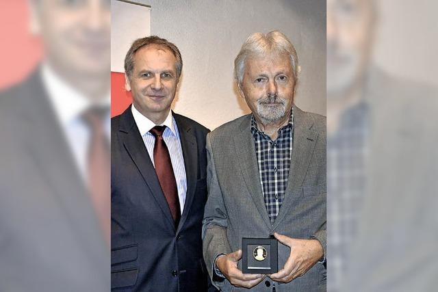Willy-Brandt-Medaille für Volker Siehr
