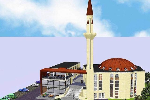 Die geplante Moschee der türkisch-islamischen Gemeinde wird kompakter