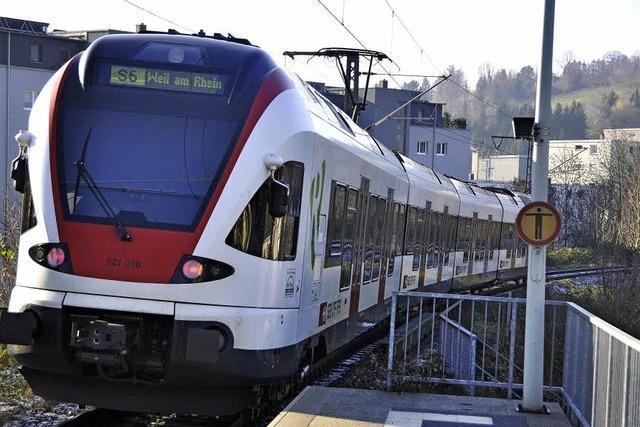 SBB fährt bis 2020 ins Wiesental