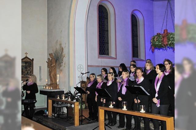 Glanzvolles Konzert zur Adventseinstimmung