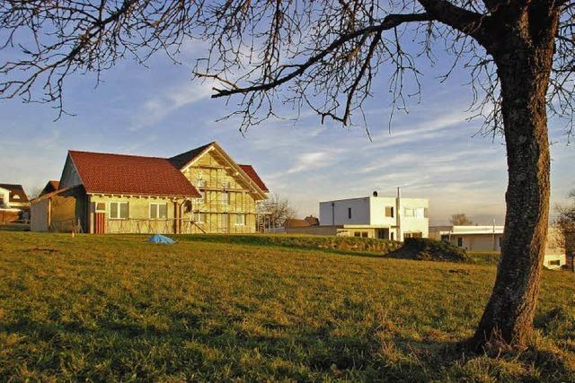 Leberholz in Nordschwaben: Nur der Asphalt fehlt noch