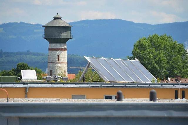 Die Energiestadt macht einen Fortschritt