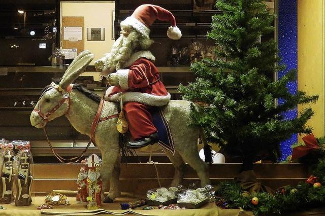 Advent ist, wenn der Nikolaus reitet