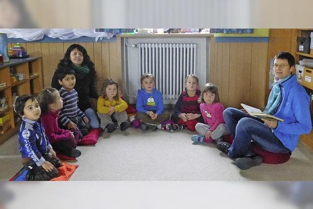 Kindergarten am Ende