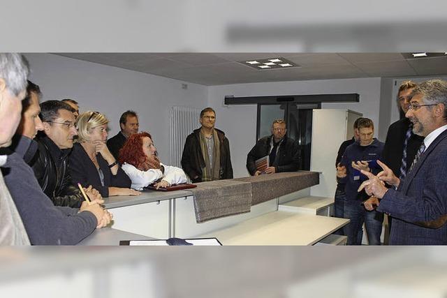 Bürgerbüro vor Eröffnung