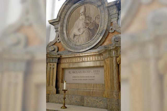 Der St. Blasier Kirchenälteste Nikolaus