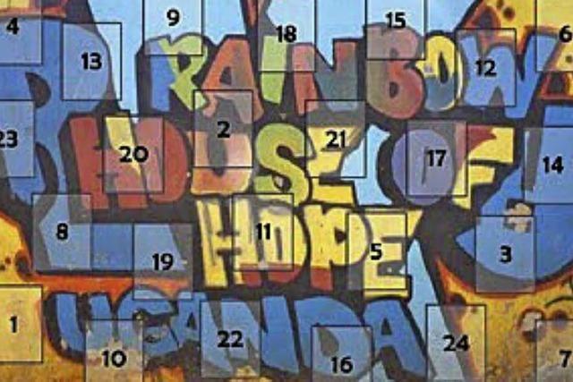 Südbadisch- afrikanischer Adventskalender