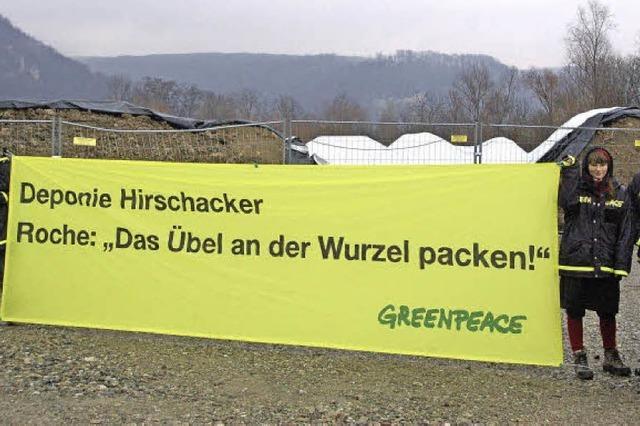 Greenpeace mischt jetzt mit